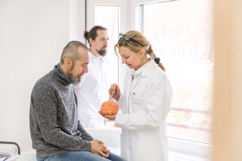 Neurologen für Schlaganfall-Patienten
