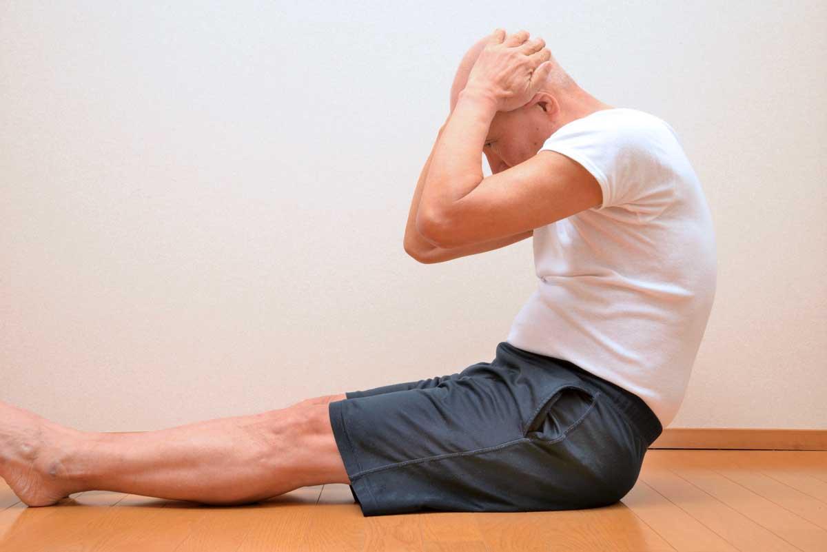Einfache Fitness-Übungen lassen sich auch zu Hause absolvieren