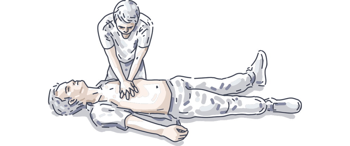 Herzdruckmassage