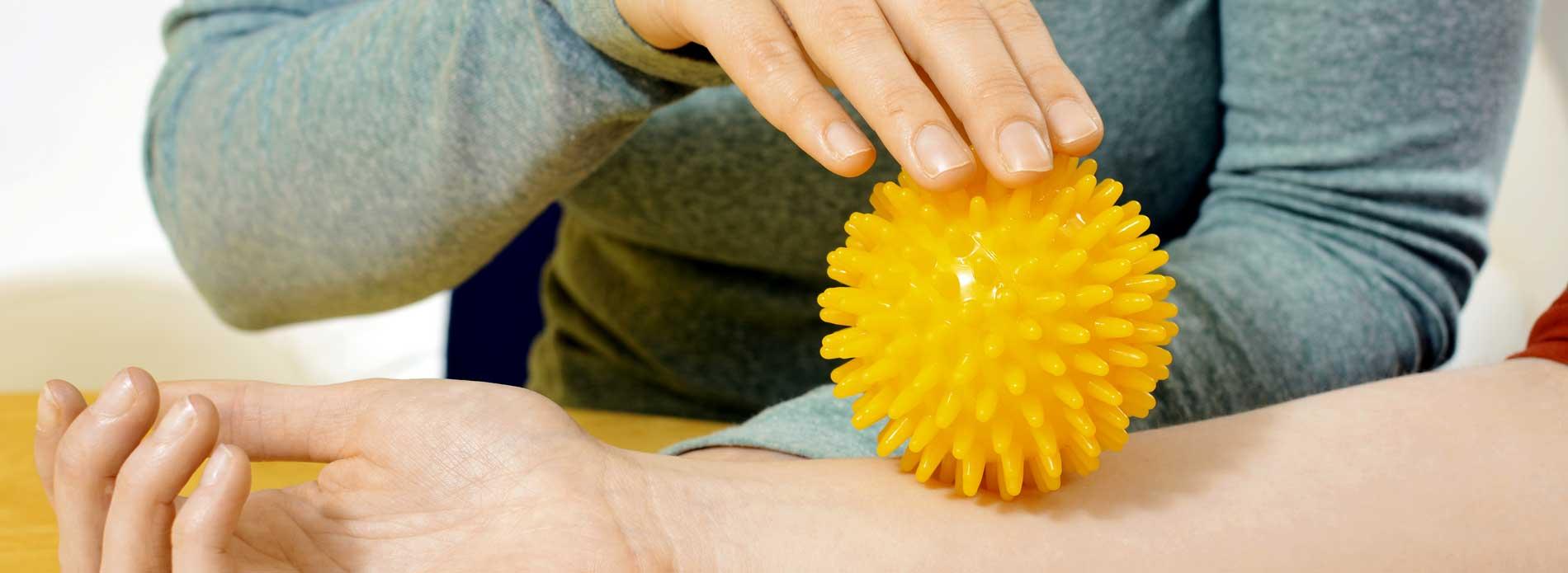 Die Ergotherapie ist fester Bestandteil der Behandlung der Hemiparese